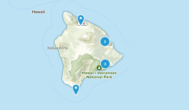 Big Island Hike Map