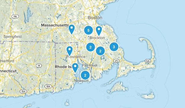Massachusetts Summer Map