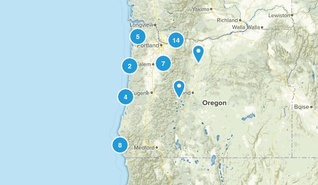 oregon wish list Map