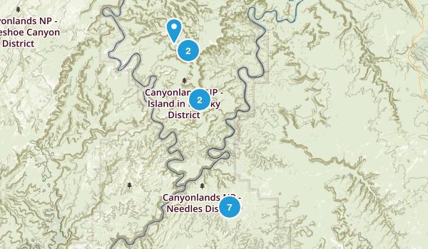 Canyonlands Map