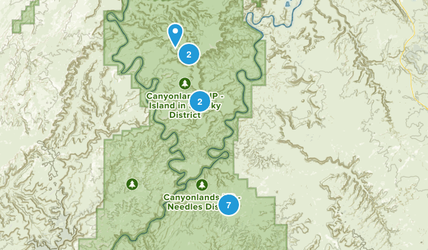 Canyonlands Map
