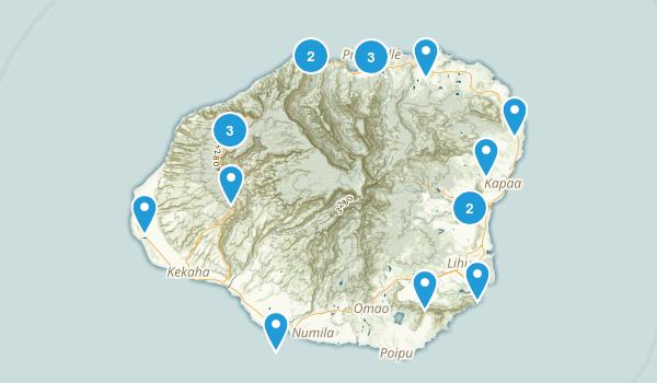 Kauai Trip Map