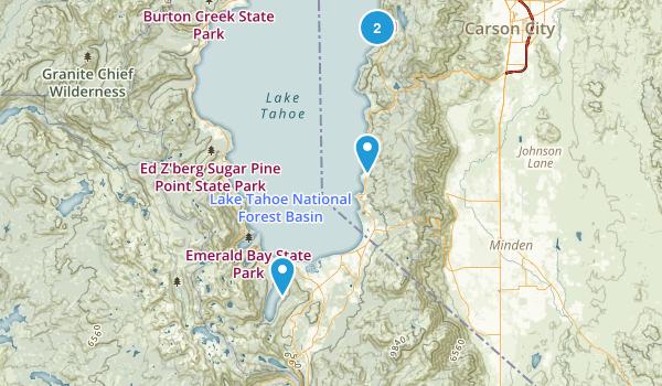 Near Markleeville Map
