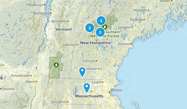 trails to hike Map