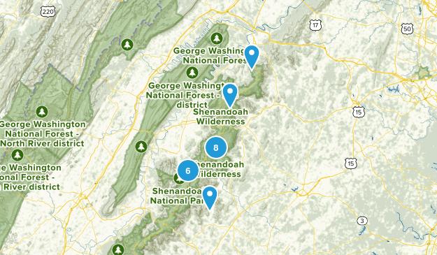 Shenandoah Map