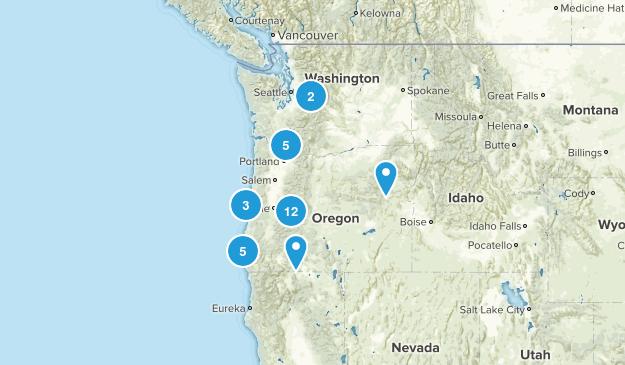 Oregon trip Map