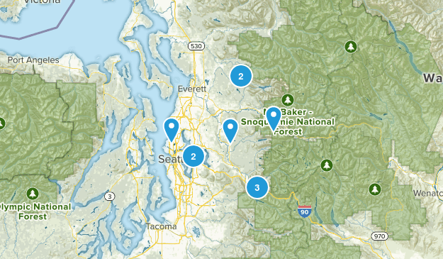 Hikes 2017 Map