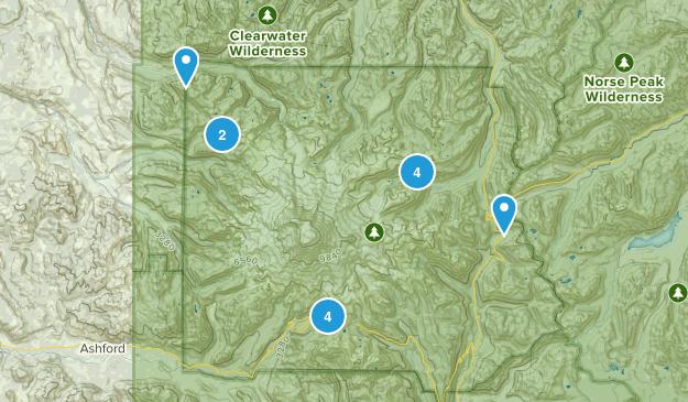 Mt Rainer NP Map
