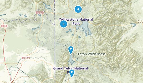 yelowstone Map