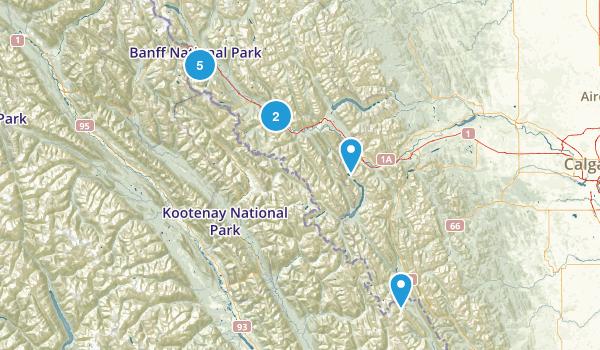 Banff Map