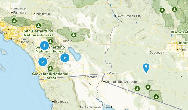 Mormon Battalion Map