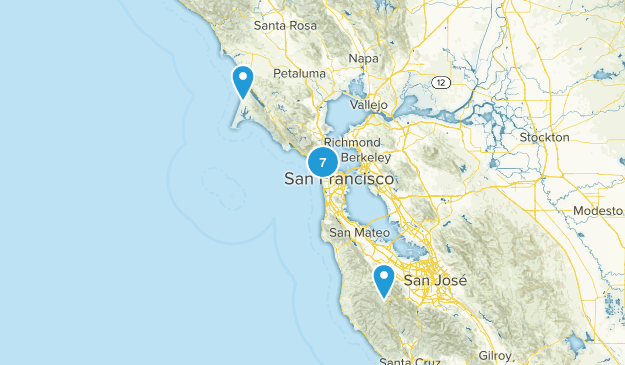 California Bay Area Map