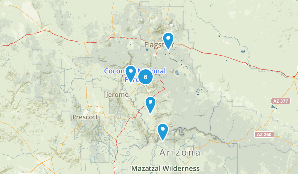 Sedona Trip Map