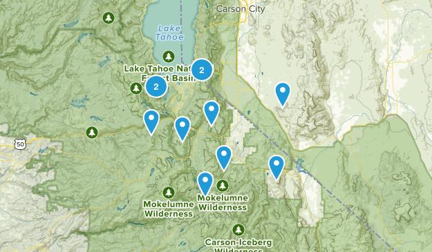 El Dorado National Forest Map