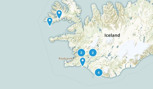 Iceland 2017 Map