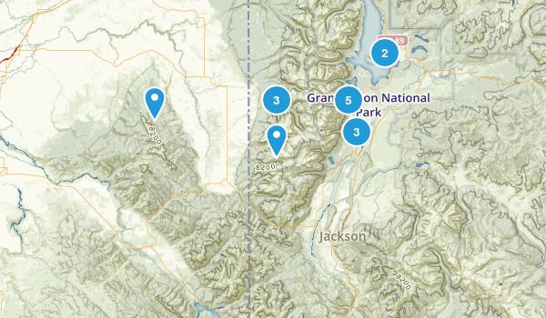 Teton Trip 2017 Map