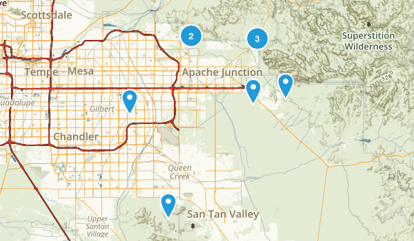 To-Hike Map