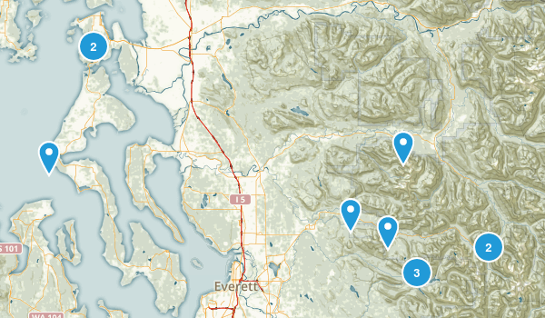 Day Hikes Map