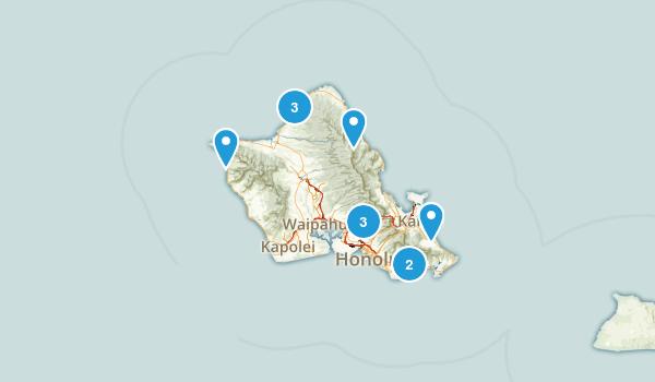 Hawaii List Map