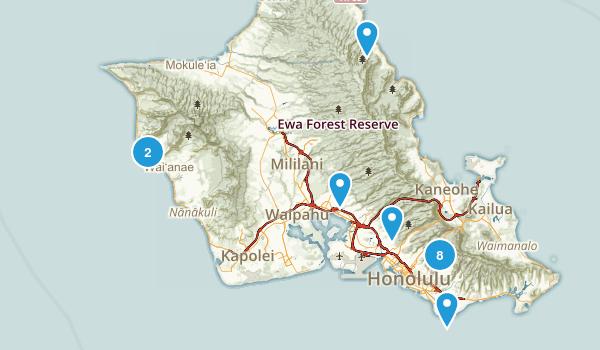 hawaii easy Map