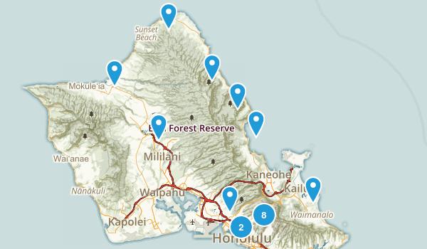 Oahu Wishlist Map