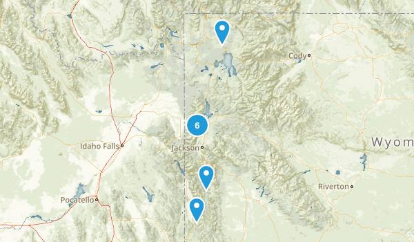 Wyoming Map