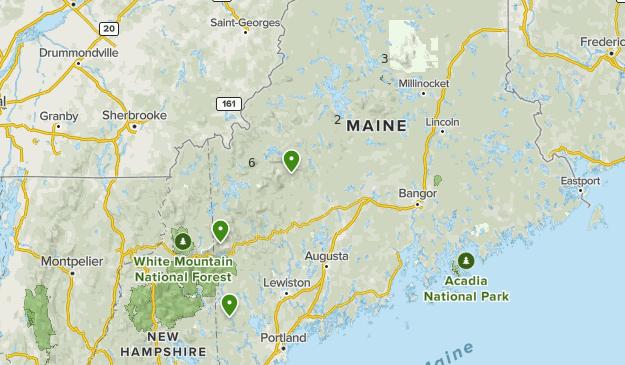 Appalachian Trail Maine Map Appalachian Trail: Maine: Best Day Hikes | List | AllTrails