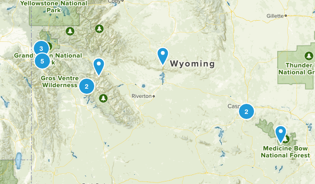 17' Solar Eclipse Wyoming Map