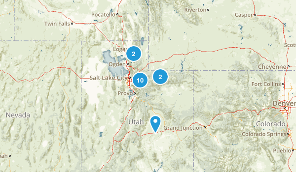 want to do - utah Map