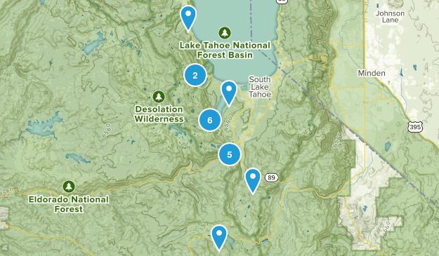 Desolation Wilderness Map