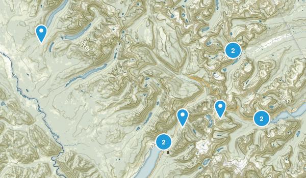 Glacier Map