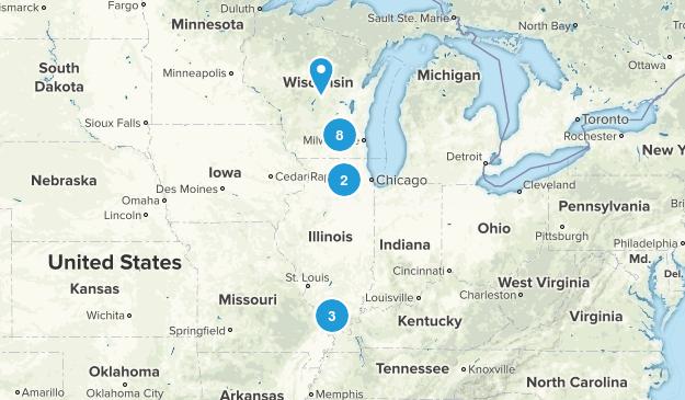 Illinois/Wisconsin Map