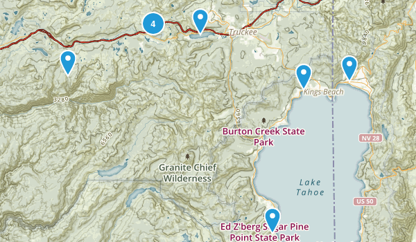 Potential Hikes Map