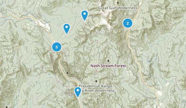 Crawford Notch Map