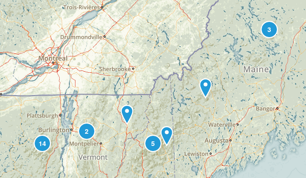 East USA Map