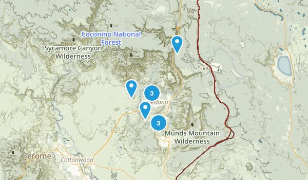 AZ Sedona Map