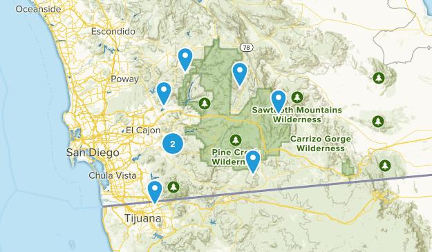 SD Peaks Map