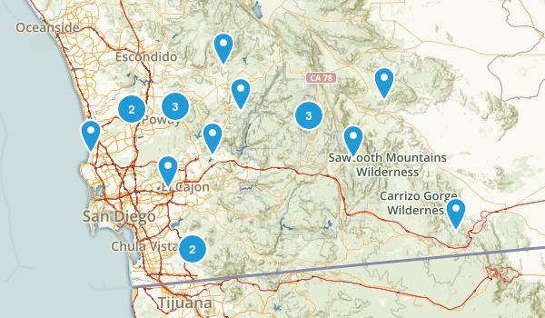 San Diego County Map