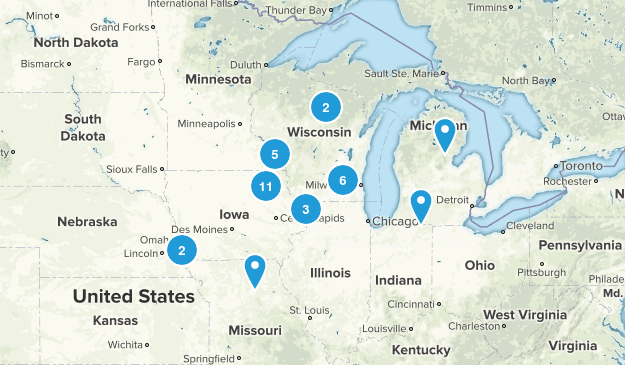 Midwest Hard Map