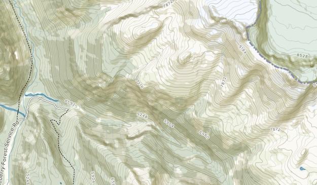 Banff area Map