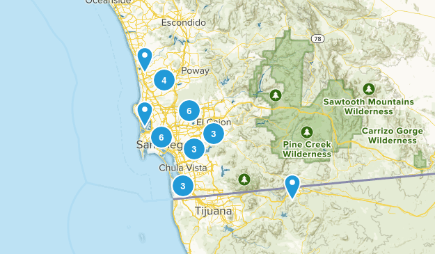 San Diego / Cowles Map