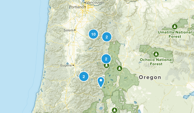 West Cascades Map