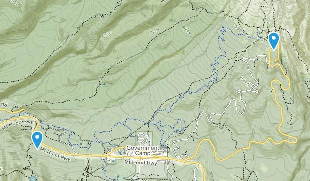 Mount Hood Map