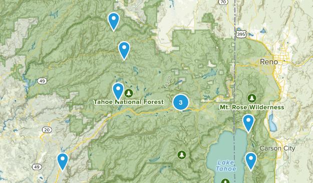 summer hike Map