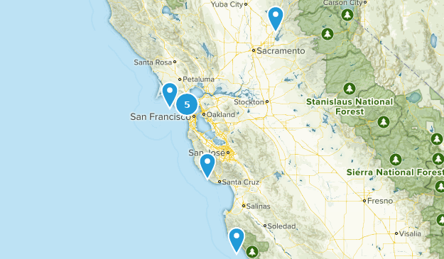Day Trips Map