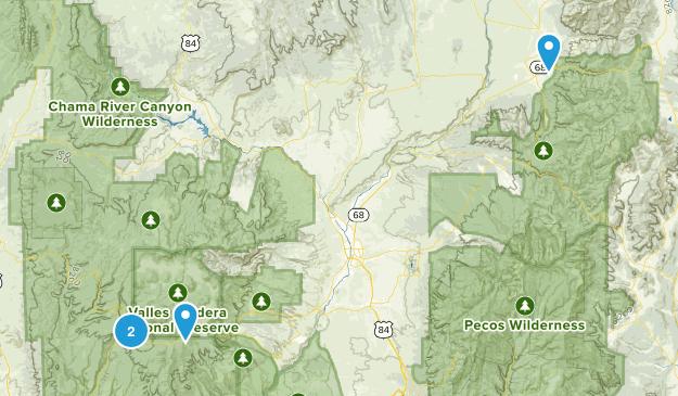 Santa Fe Trip Map