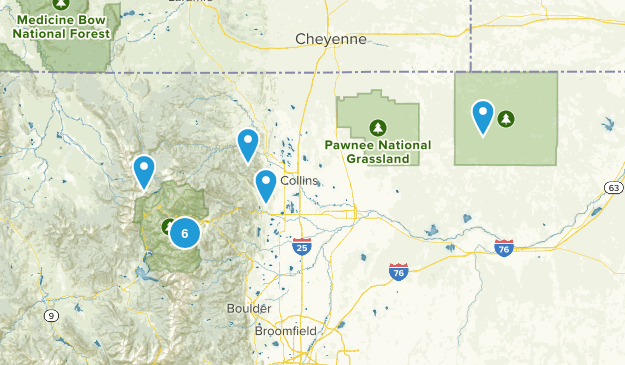 Fort Collins Trip Map