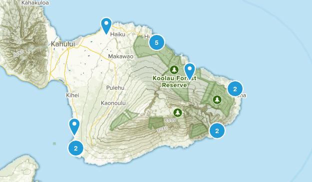 hawaii honeymoon Map