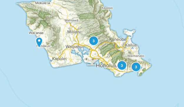 Tough Honolulu Map