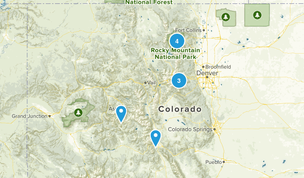 Want to Hike Map